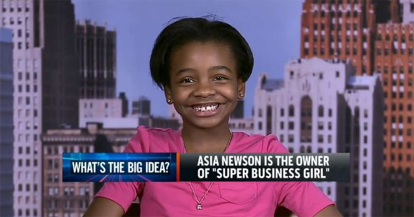Celebrating Our Children: Super Business Girl | Own By An 11 Year Old CEO